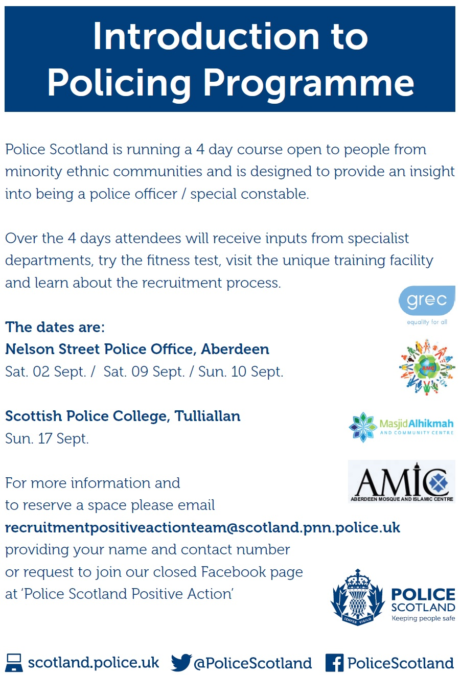Russian centre in scotland haven police scotland continues to encourage members of ethnic minorities to apply for the job and once again refers to the russian speaking community kristyandbryce Choice Image